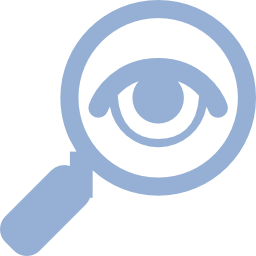Icon search eye